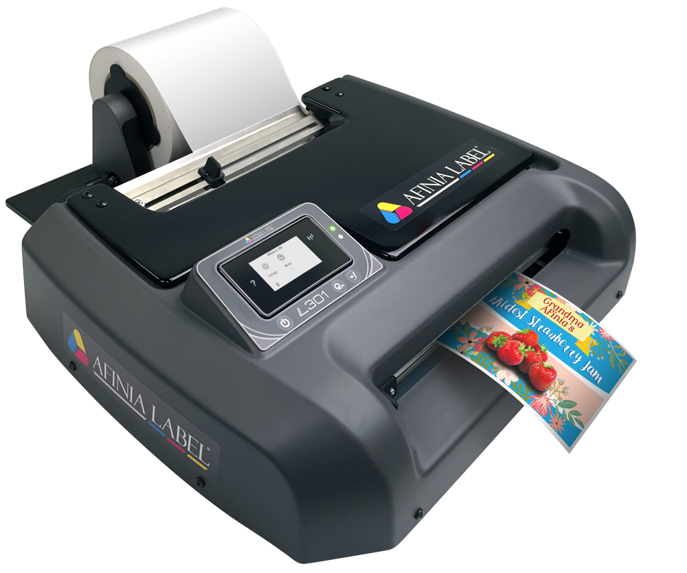 L301 Digital Color Label Printer - Powered by Memjet