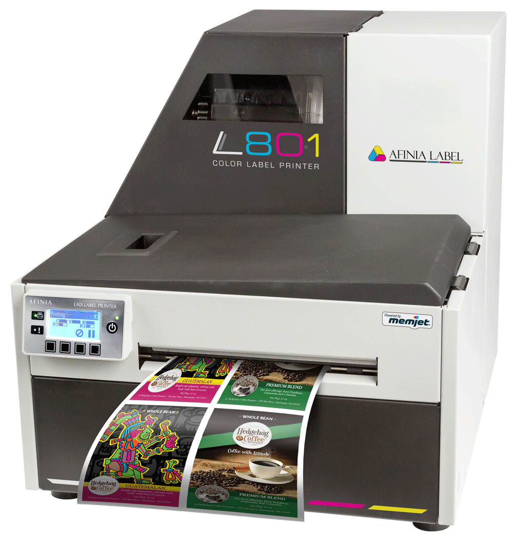 L801 Digital Color Label Printer - Powered by Memjet